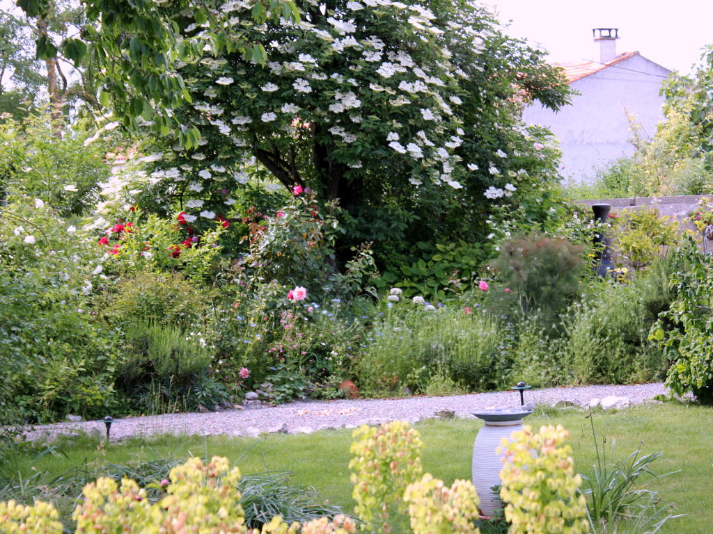 Garden at Maison Maurice